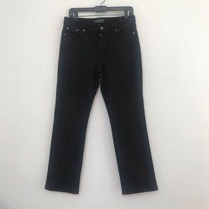 Ralph Lauren Black Wash High Waisted Jeans 10P